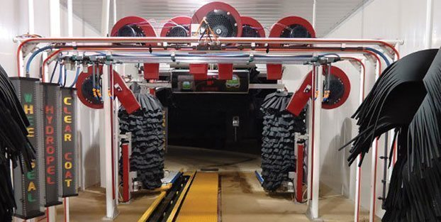 Car wash tunnel equipment
